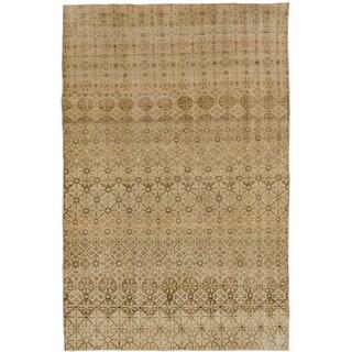 ecarpetgallery Anatolian Sunwash Beige Wool Rug (5'10 x 9'2)