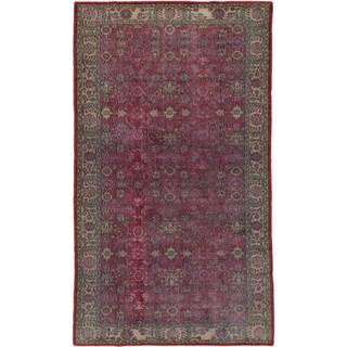 ecarpetgallery Anatolian Sunwash Red Wool Rug (5'7 x 9'8)