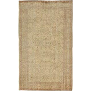ecarpetgallery Anatolian Sunwash Beige/ Yellow Wool Rug (5'4 x 9'3)