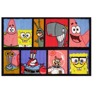 "SpongeBob Comic Area Rug 39"" x 58"""