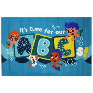 "It's Time for our ABC's Area Rug 39"" x 58"""