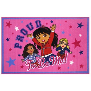 "Dora the Explorer 'Proud To Be Me' Area Rug 39"" x 58"""