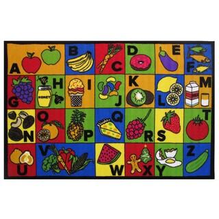 "ABC Food Area Rug - 51"" x 78"""