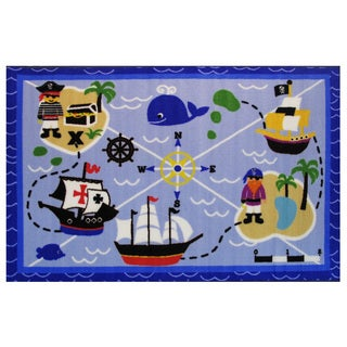 "Buried Treasures Area Rug 39"" x 58"""