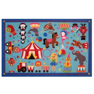 """Circus Life! Area Rug 39"""" x 58"""""""