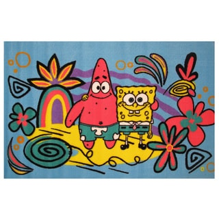 "SpongeBob & Patrick Area Rug 39"" x 58"""
