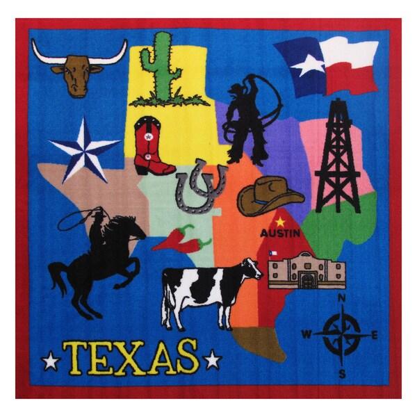 Texas Area Rug