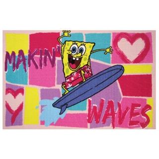 "SpongeBob Making Waves Accent Rug 19"" x 29"""