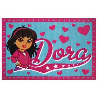 Dora the Explorer Area Rug (4'3 x 6'6)