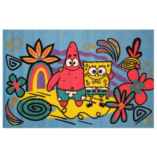 "SpongeBob & Patrick Area Rug - 1'7"" x 2'5"""