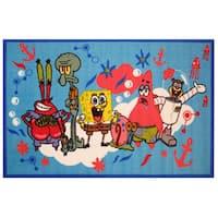 SpongeBob & Friends Area Rug