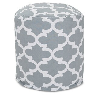 Trellis Pouf Outdoor Indoor by Majestic Home Goods