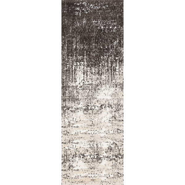 Hastings Ivory Brown Runner Rug 2 5 X 7 On Free Shipping Today 11038142
