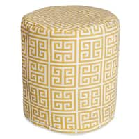 "Majestic Home Goods Towers Indoor / Outdoor Ottoman Pouf 16"" L x 16"" W x 17"" H"