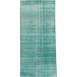 ecarpetgallery Color Transition Blue Wool Rug (4'5 x 9'3)