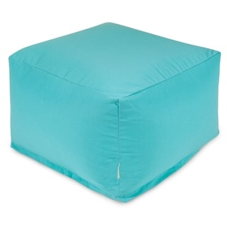 Solid Color Bean Bag Ottoman