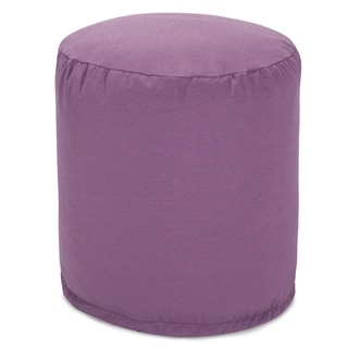 Solid Color Bean Bag Pouf