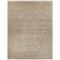 Hand-Knotted Oriental Gray/ Silver Area Rug (6' X 9')