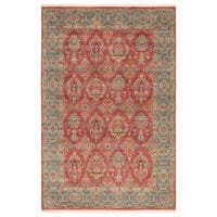 Hand-Knotted Oriental Red Area Rug (8' X 10')