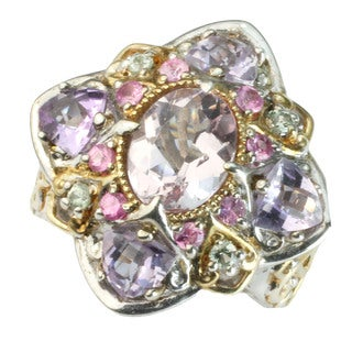 One-of-a-kind Michael Valitutti Kunzite & Pink Amethyst Ring