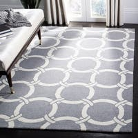 Safavieh Hand-Hooked Four Seasons Ivory / Brown Polyester Rug - 8' x 10'