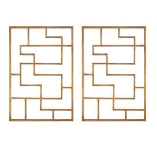 Quaid Gold Wall Art (Set of 2)