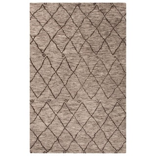 Jaipur Living Hand-Knotted Zuri Gray/Brown Moroccan Rug (9' x 12')
