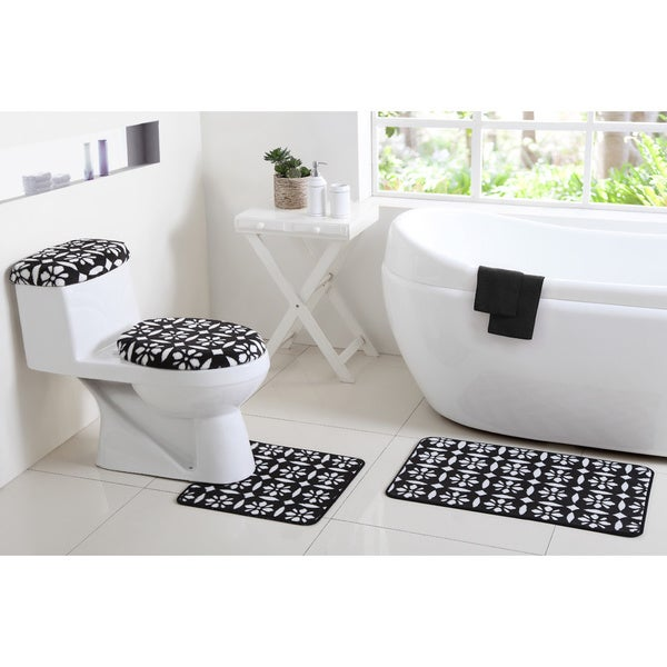 VCNY Annabelle 12-Piece Rug and Bathroom Set