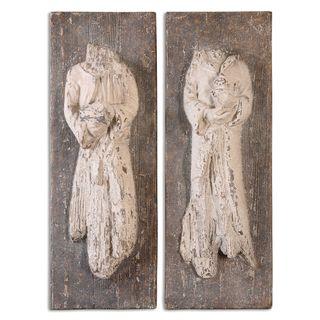 Saint Statues (Set of 2)