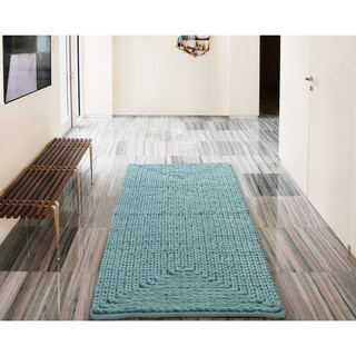 VCNY Barron Cotton Chenille Bath Rug