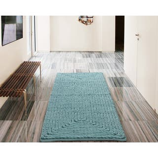 VCNY Barron Cotton Chenille Bath Rug. 17 x 24 Bath Rugs   Bath Mats For Less   Overstock com