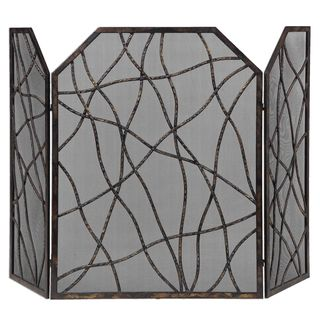 Dorigrass Metal Fireplace Screen