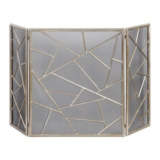 Armino Modern Fireplace Screen