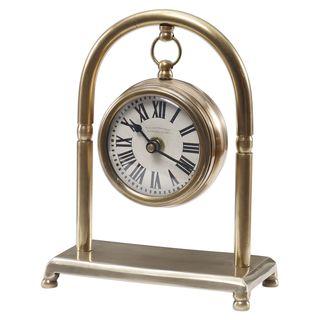Bahan Brass Table Clock