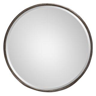 Nova Round Metal Mirror