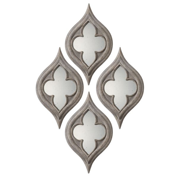 Pernilla Quatrefoil Mirrors (Set of 2)