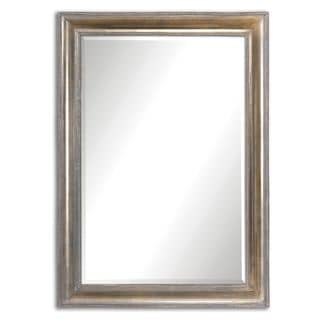 Avelina Oxidized Silver Mirror - Antique Silver - 24.5x34.5x2.25