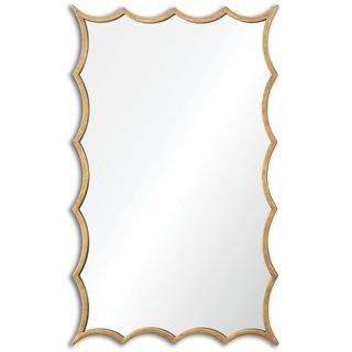 Dareios Gold Mirror - Antique Silver - 23.625x38.5x1