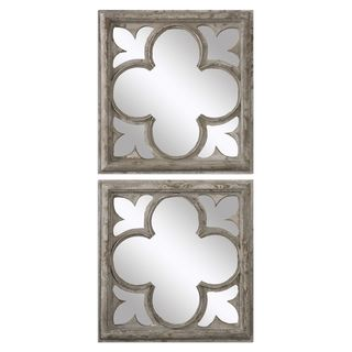 Vellauni Quatrefoil Mirrors (Set of 2)