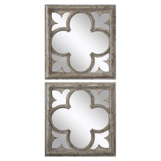 Vellauni Quatrefoil Mirrors (Set of 2)