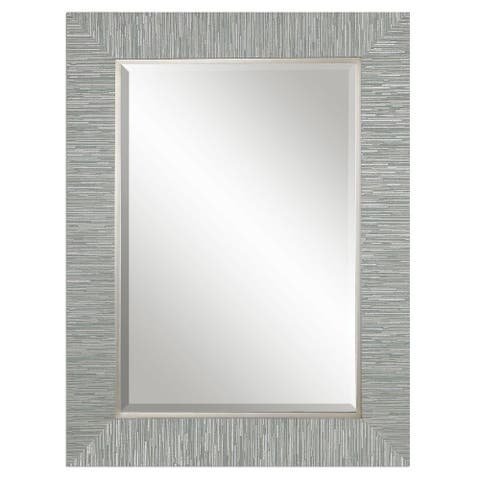 Belaya Gray Wood Mirror