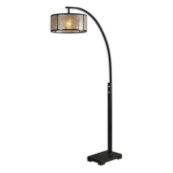 Attractive Cairano Drum Shade Floor Lamp