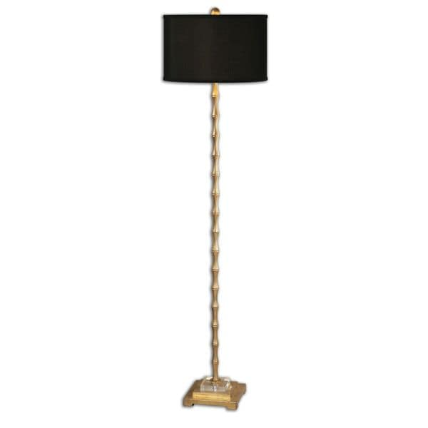 Quindici Metal Bamboo Floor Lamp by Uttermost