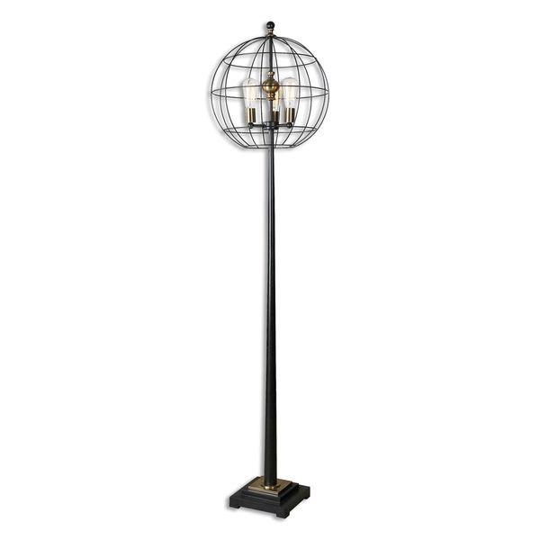 Palla Round Cage 3-light Floor Lamp