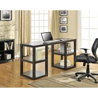 Ameriwood Home Stanley Espresso Deluxe Parsons Computer Desk