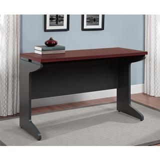 Ameriwood Home Pursuit Cherry/ Grey Bridge Table