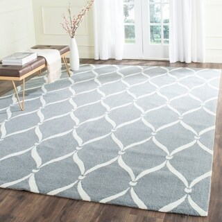 Safavieh Hand-Hooked Four Seasons Grey / Ivory Polyester Rug (3'6 x 5'6)