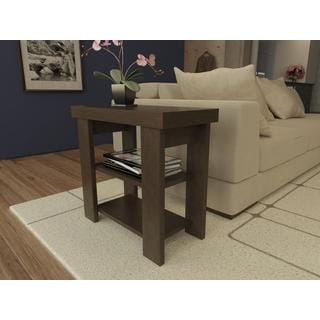 Altra Black Forest Hollow Core Chair Side Table