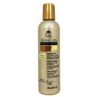 Avlon KeraCare 8-ounce Natural Textures Cleansing Cream