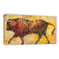 JC Pino's The Bull, Gallery Wrapped Canvas